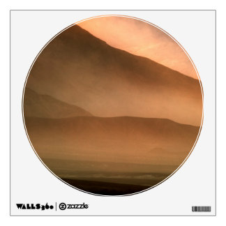 Sandstorm at Mesquite Sand Dunes, Sunset Wall Decal