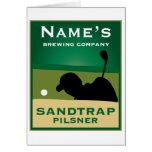 Sandtrap Pilsner Card