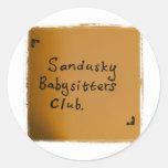 Sandusky Babysitters Club Stickers
