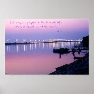 Sandusky Bay Bridge Poster