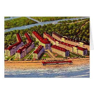 Sandusky, Ohio, Cedar Point on Lake Erie Greeting Card
