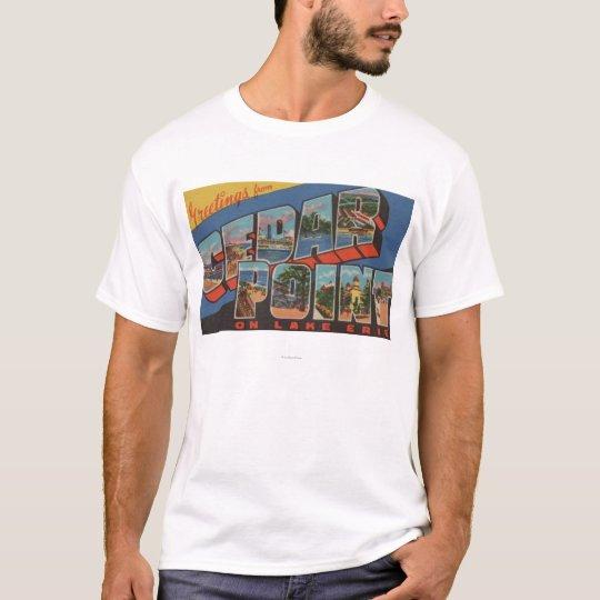 Sandusky, Ohio - Lake Erie - Cedar Point T-Shirt