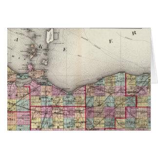 Sandusky, Seneca, and Summit Counties Card