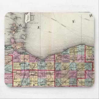 Sandusky, Seneca, and Summit Counties Mouse Pad