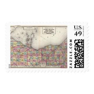 Sandusky, Seneca, and Summit Counties Postage