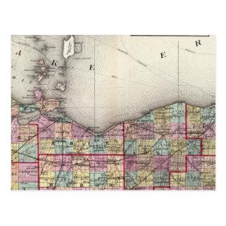 Sandusky, Seneca, y condados de la cumbre Tarjetas Postales