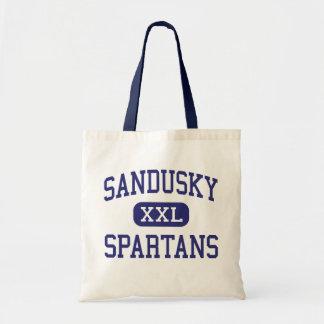 Sandusky Spartans Middle Lynchburg Virginia Canvas Bag