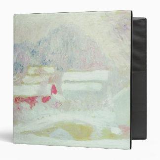 """Sandviken, Noruega, 1895 (aceite en lona) Carpeta 1 1/2"""""""