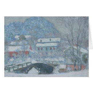 Sandviken Norway in the Snow Greeting Card