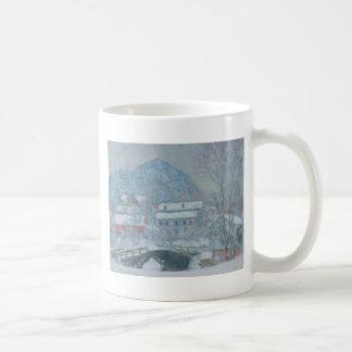 Sandviken Norway in the Snow Classic White Coffee Mug