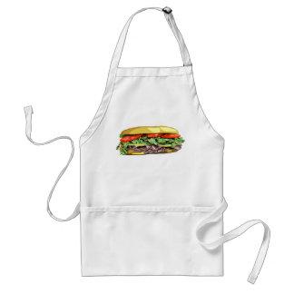 Sandwich apron