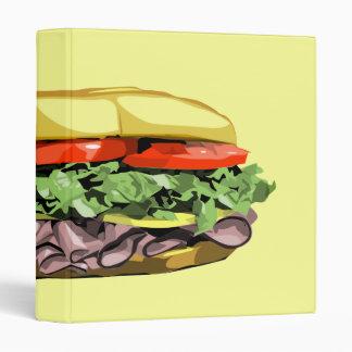 Sandwich binder
