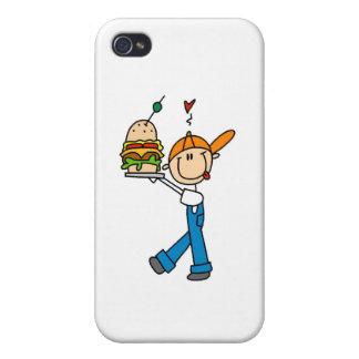 Sandwich Connoisseur Stick Figure Covers For iPhone 4