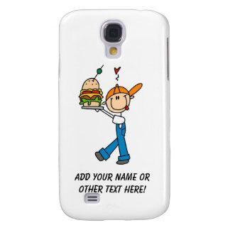 Sandwich Connoisseur Stick Figure Samsung Galaxy S4 Case