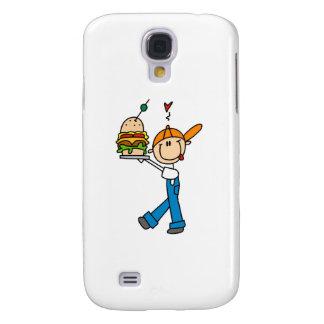 Sandwich Connoisseur Stick Figure Samsung S4 Case