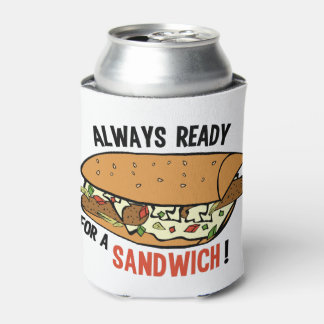 Sandwich custom name can cooler