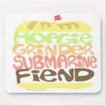 Sandwich Fiend Mouse Mat