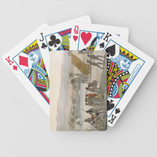 Sandwich Islands - a Westerner negotiating for sto Bicycle Playing Cards