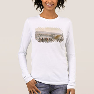 Sandwich Islands - a Westerner negotiating for sto Long Sleeve T-Shirt
