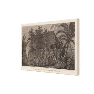 Sandwich Islands, Hawaii Canvas Print