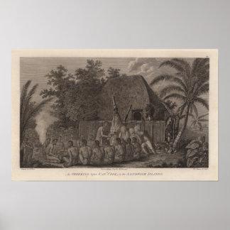 Sandwich Islands, Hawaii Print
