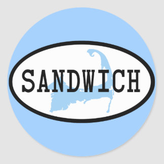 Sandwich, MA Sticker