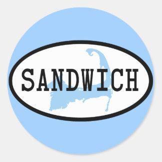Sandwich, MA Sticker