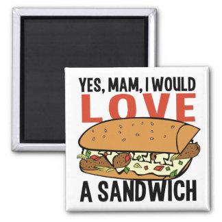 Sandwich magnet