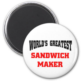Sandwich maker 2 inch round magnet