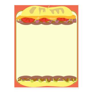Sandwich Stationery Postcard
