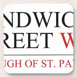 Sandwich Street Coaster
