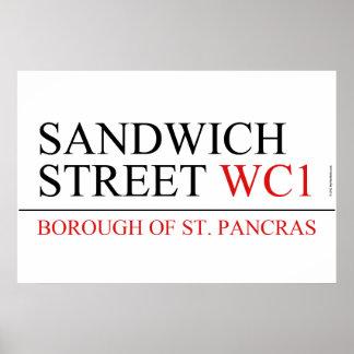 Sandwich Street Posters