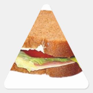 Sandwich Triangle Sticker