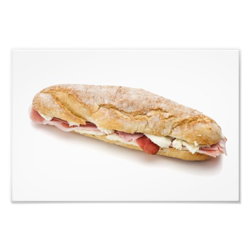 sandwich with ham and cheese art photo