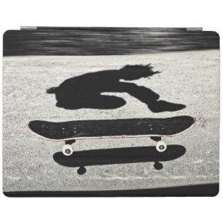 sandwiched skateboard iPad smart cover