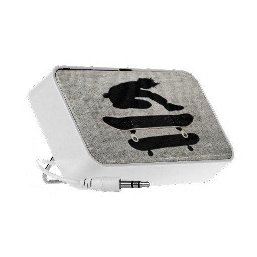 sandwiched skateboard PC speakers