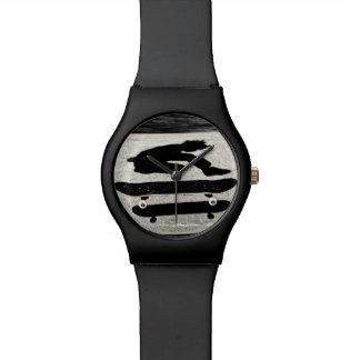 sandwiched skateboard watch