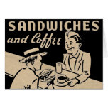 Sandwiches and Coffee Cards