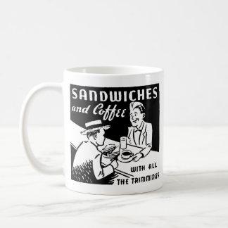 Sandwiches and Coffee Coffee Mug