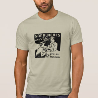 Sandwiches and Coffee T Shirt