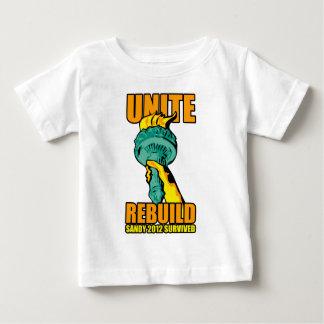 Sandy 2012 baby T-Shirt