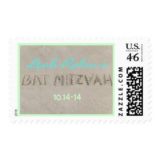SANDY Bat Mitzvah Postage Stamp