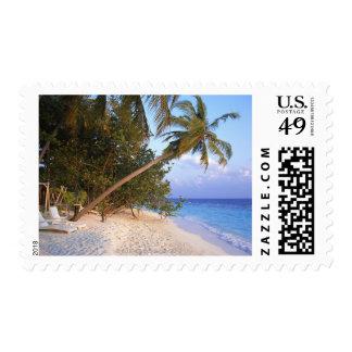 Sandy Beach 10 Postage Stamp