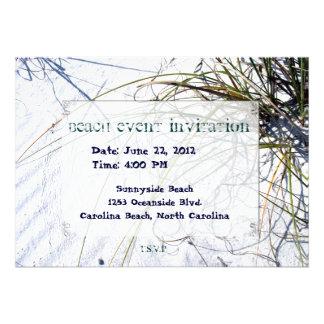 Sandy Beach 2 Framed Invite