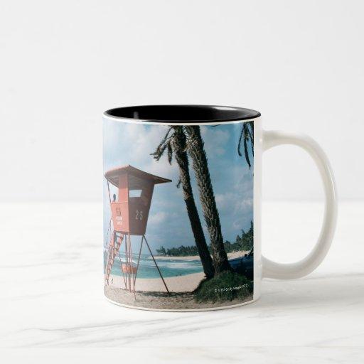 Sandy Beach 5 Coffee Mugs