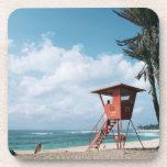 Sandy Beach 5 Drink Coaster