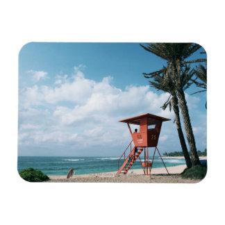 Sandy Beach 5 Magnet
