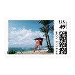 Sandy Beach 5 Stamp