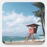 Sandy Beach 5 Stickers
