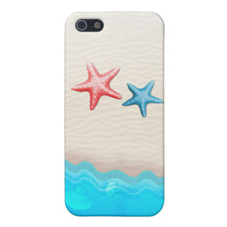Sandy Beach And Starfish Case For iPhone SE/5/5s
